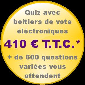 Quiz avec boitier de vote electronique